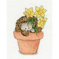 Woodland Folk Frankie Hedgehog with Daffodils BK1199.jpg