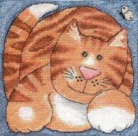 DMC K5025 Ginger Tabby Cat.jpg
