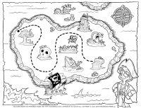 kalóz térkép gyerekeknek Kalóz Térkép Készítése | Térkép