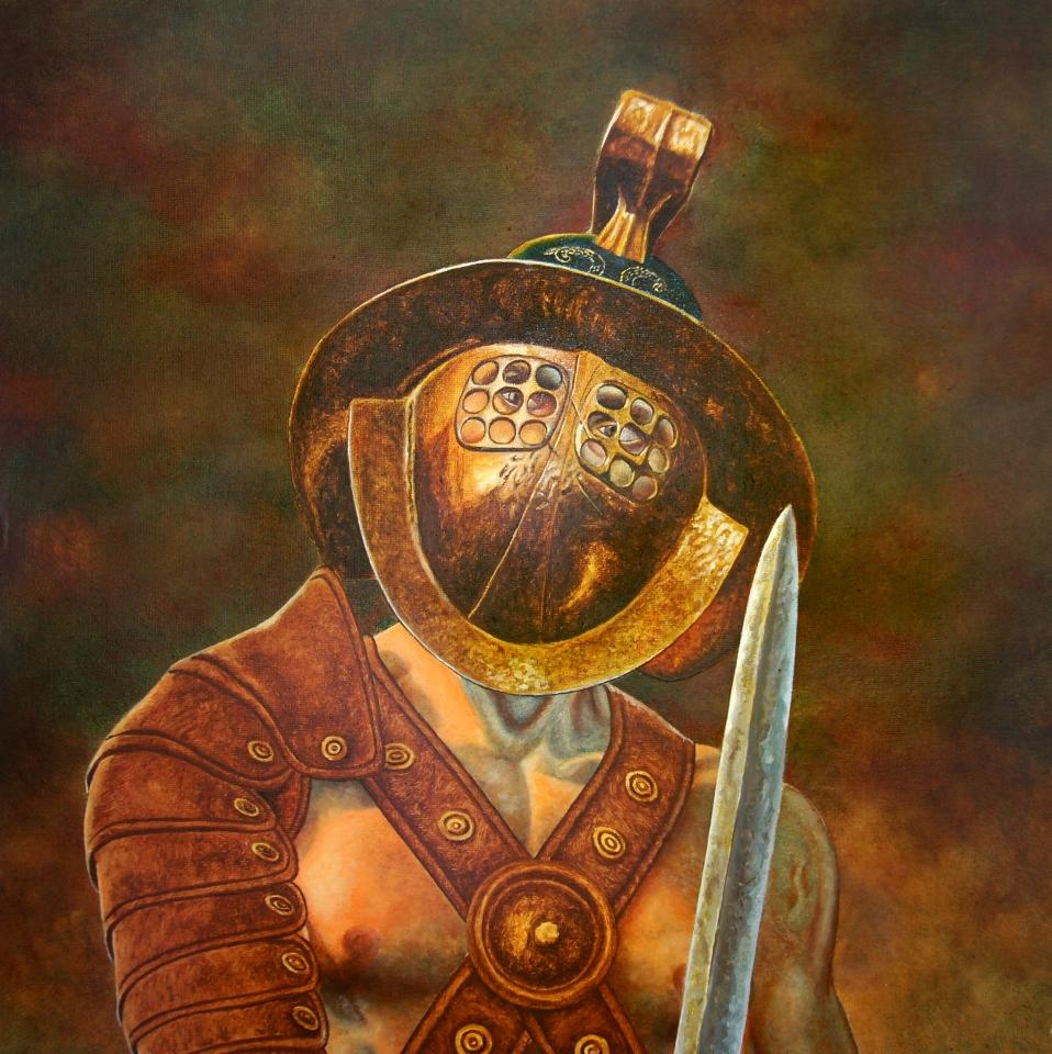 Festményeim 4 / Spartacus a gladiátor