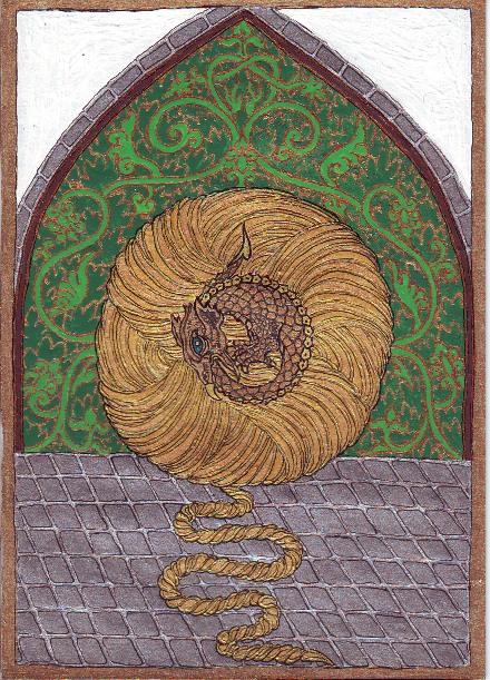 Festményeim: sárkányok (My paintings: dragons)